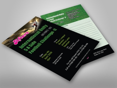 Flyers 300gsm Silk Card + Sealer - Colour Printing