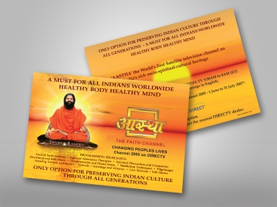 Flyers 400gsm Silk Card + Sealer - Colour Printing