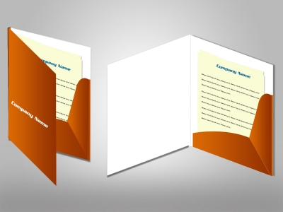 A4 Digitally Printed Presentation FoldersFor 5 to 100 QuantitieS